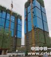 3日内两栋高层实现封顶!中铁一局建安公司武汉歌笛湖项目再传捷报