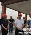 宁夏回族自治区党委副书记、银川市委书记姜志刚到西线供水调研