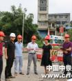 广西河池市委常委、常务副市长韦朝晖到中铁一局三公司金宜大道项目调研