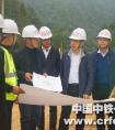 中铁一局副总经理鲁和友到宜兴铁路项目进行施工检查