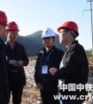 沪昆公司副总经理张修立到中铁一局盘兴铁路项目检查指导工作