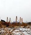 一份来自-25℃建设工地的报告——中铁一局建安公司奋战北黄海冷链物流基地建设侧记