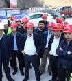 肖红武陪同国铁集团副总经理王同军到大瑞项目调研