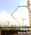 中铁一局三公司三原恒大房建项目6#楼正负零顶板提前完成