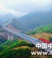 中铁一局三公司南天项目玉兰5号高架大桥双幅贯通