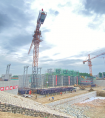 中铁二十五局五公司小清河复航工程首道节制闸主体工程顺利完成