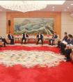 朱赤陪同王立新会见莆田市委、市政府主要领导