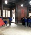 """中铁一局三公司开展陕西片区""""永远跟党走 奋斗新征程""""主题团日活动"""