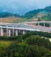 莆炎高速公路奇韬互通工程主体建成