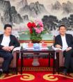 闫广天会见杭州交投集团党委书记、董事长章舜年
