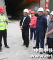 云南省滇中引水建管局局长胡朝碧到中铁一局五公司滇中引水昆明段调研