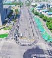 合肥市轨道交通6号线科学大道站二期一阶段交通导改顺利完成