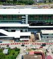 中铁十七局四公司马来西亚轻轨2号线项目车站灯组通电验收成功