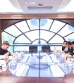 闫广天会见邢台经济开发区党工委书记、管理委员会主任郝侃