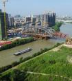中铁二十五局五公司:湖州南林大桥主航道桥顺利合龙
